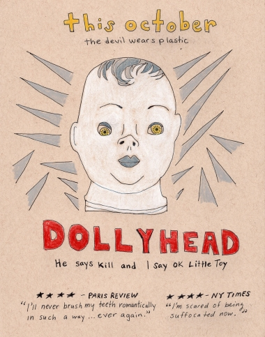 coming soon: dollyhead . stacy elaine dacheux . 2015