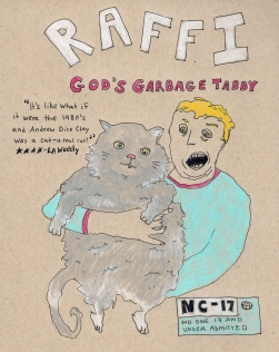 coming soon: raffi, god's garbage tabby . stacy elaine dacheux . 2015